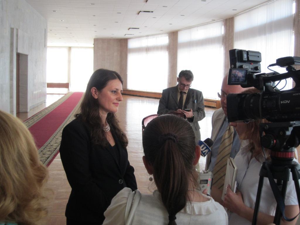 Deputy Director of UNDP in Ukraine Visited the EU/UNDP CBA Project