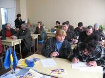 під час тренінгу у Приморську