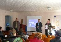 Робоча зустріч з активом громади смт.Новомиколаївка